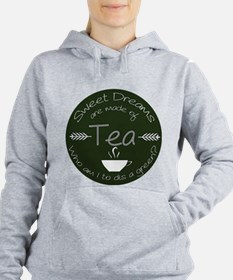 Green Tea Dreams Women's Hooded Sweatshirt