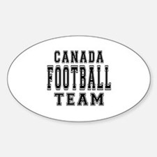 Canada Football Team Decal