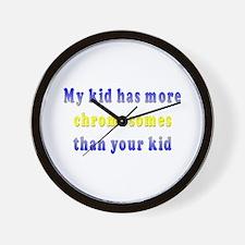 More Chromosomes Wall Clock