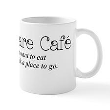 I Don't Care Cafe Mug