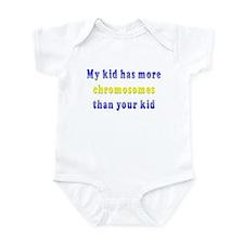 More Chromosomes Infant Bodysuit