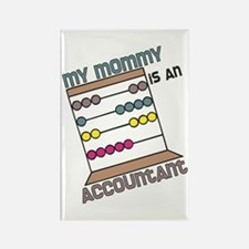 Mommy Accountant Rectangle Magnet