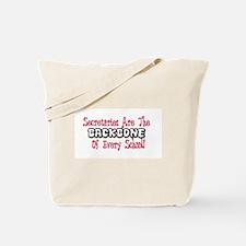 Secretary school Tote Bag