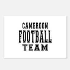 Cameroon Football Team Postcards (Package of 8)