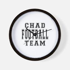 Chad Football Team Wall Clock