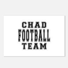Chad Football Team Postcards (Package of 8)