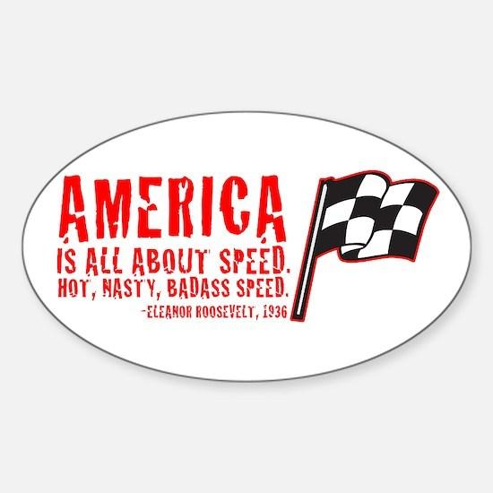 Oval Bumper Stickers