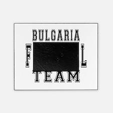 Bulgaria Football Team Picture Frame