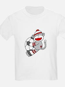 Sock Monkey Soccer T-Shirt