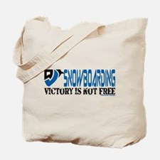 Snowboarding Victory Tote Bag