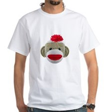 Sock Monkey Face Shirt