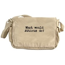WHAT WOULD ATTICUS DO? Messenger Bag