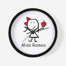 Apple - Romeo Wall Clock