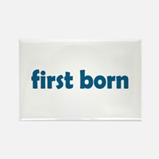 First Born Rectangle Magnet