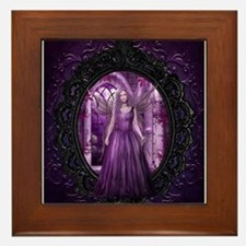 Lavender Fairy Framed Tile