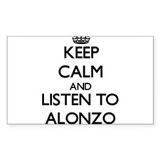 Keep Calm and Listen to Alonzo Decal