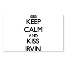 Keep Calm and Kiss Irvin Decal