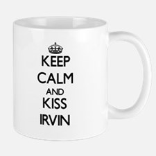 Keep Calm and Kiss Irvin Mugs
