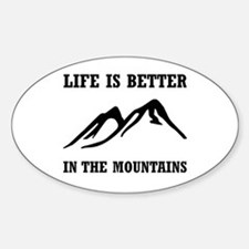 Better In Mountains Decal