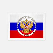 Russian Federation 5'x7'Area Rug