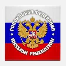 Russian Federation Tile Coaster