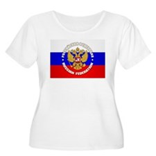Russian Federation Plus Size T-Shirt