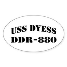USS DYESS Decal
