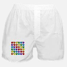 all bear pattern Boxer Shorts
