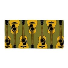 Guitars Beach Towel