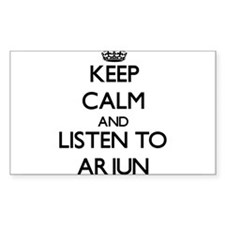 Keep Calm and Listen to Arjun Decal