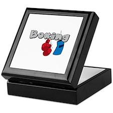 Boxing Keepsake Box