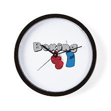 Boxing Wall Clock