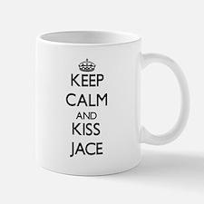 Keep Calm and Kiss Jace Mugs