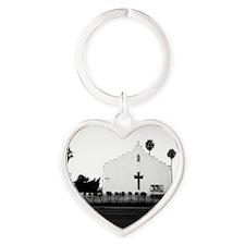 Church Heart Keychain