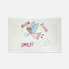 Brush Floss Smile Magnets