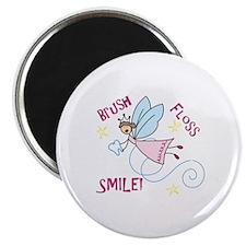 Brush Floss Smile Magnets