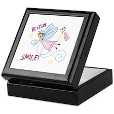 Brush Floss Smile Keepsake Box
