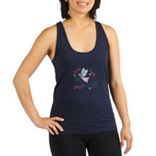 Brush Floss Smile Racerback Tank Top