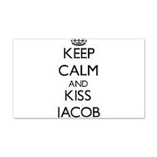 Keep Calm and Kiss Jacob Wall Decal