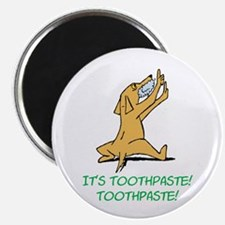 "Cartoon Rabid Dog 2.25"" Magnet (100 pack)"