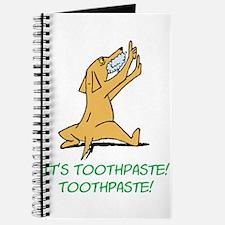 Cartoon Rabid Dog Journal