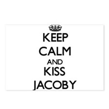 Keep Calm and Kiss Jacoby Postcards (Package of 8)