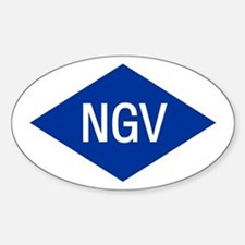 NGV Oval Decal