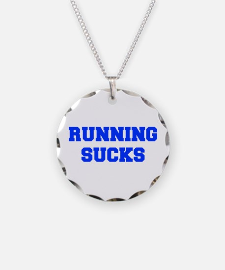 running-sucks-FRESH-BLUE Necklace