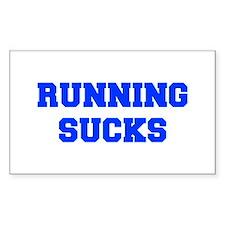 running-sucks-FRESH-BLUE Decal