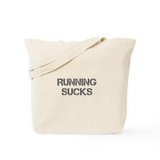 running-sucks-CAP-GRAY Tote Bag
