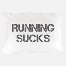 running-sucks-CAP-GRAY Pillow Case