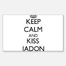 Keep Calm and Kiss Jadon Decal