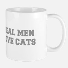 real-men-love-cats-FRESH-GRAY Mugs