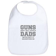 guns-dont-kill-people-fresh-gray Bib